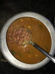 Butter beans kozhambu is ready.