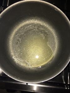 Heat little oil in a vessel.