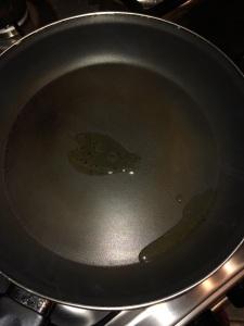 Add little oil in a pan.