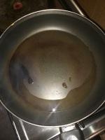 Take oil in a pan.