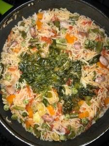 Vegetable Briyani is ready.