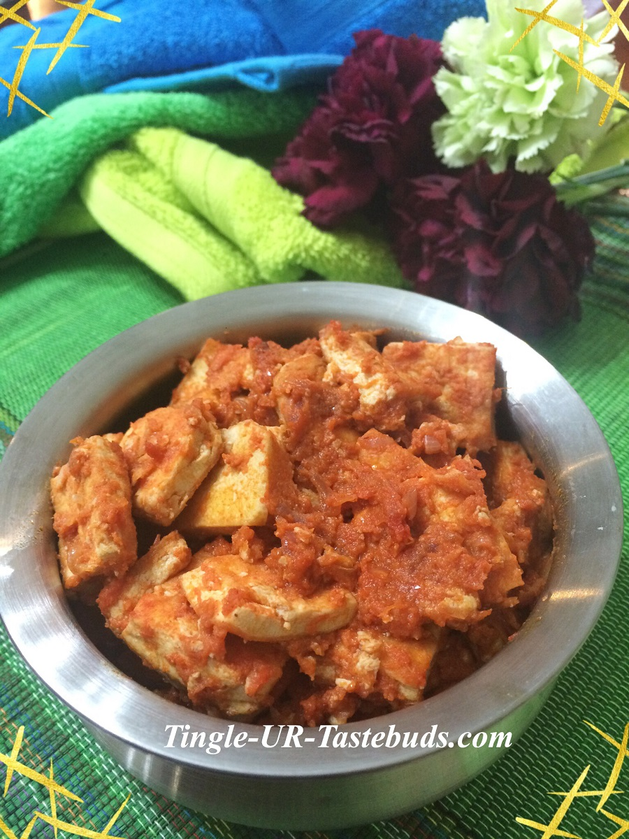 Tofu masala south indian style tingle ur tastebuds its a south indian influenced masala and goes well with any rasam and rice combo or sambar and rice combo i learnt this masala when i was in malaysia from forumfinder Image collections