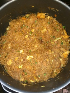 Mix everything well and taste the vermicelli if it is soft or not.