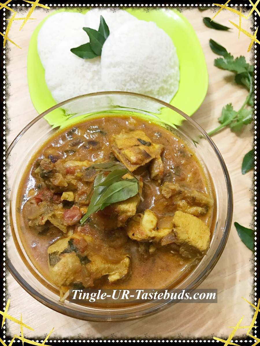 Chicken Gravy Kozhi Kuzhambu South Indian Style Tingle Ur Tastebuds